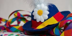 festa di carnevale cappello